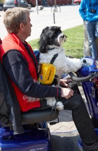 SOS-Hund visade upp sina färdigheter
